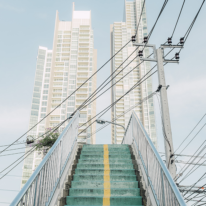 Paper Journal, Adam Birkan, Bangkok landscape