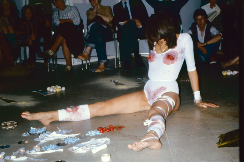 Image 6 'ACTION' 3 day performance, Hayward Gallery, London, UK 1979