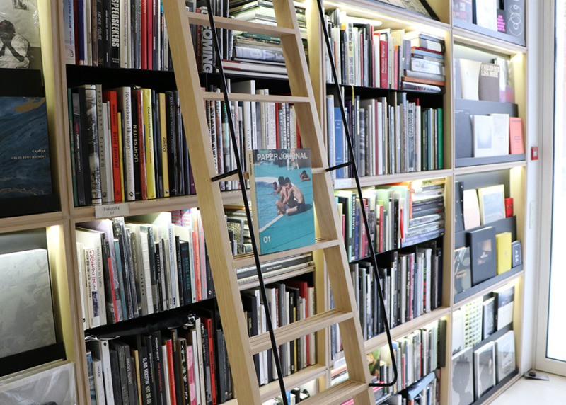 Paper Journal 01 in-store at Ivory Press, Madrid, Spain