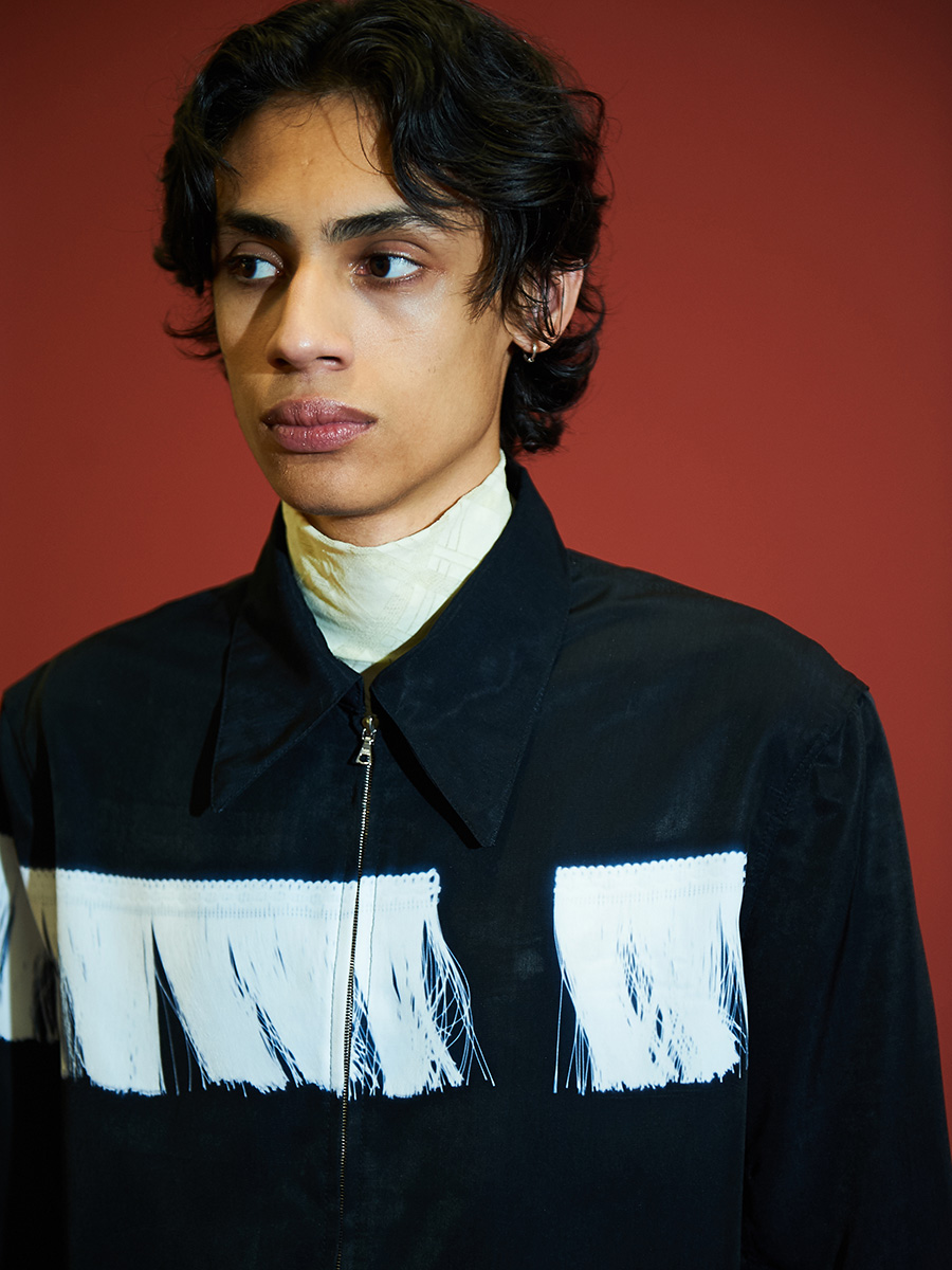 Stefan Cooke backstage photography at London Fashion Week, Menswear AW19.